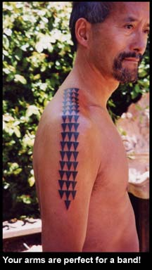 Tattoo Traditions Of Polynesia Tattooist Tricia Allen Arm Bands